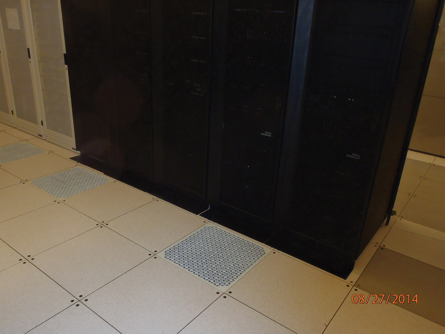 Perforated tile placement is key.