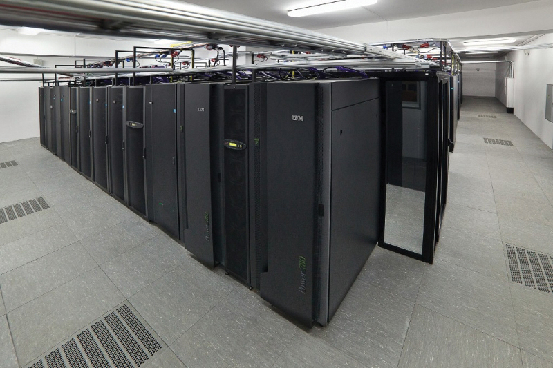 Figure 5. Inside a data hall.