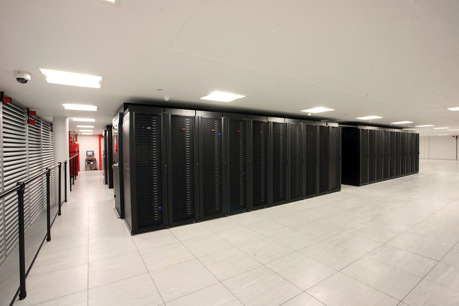 Figure 2. Phase 1 Data Center (2008)
