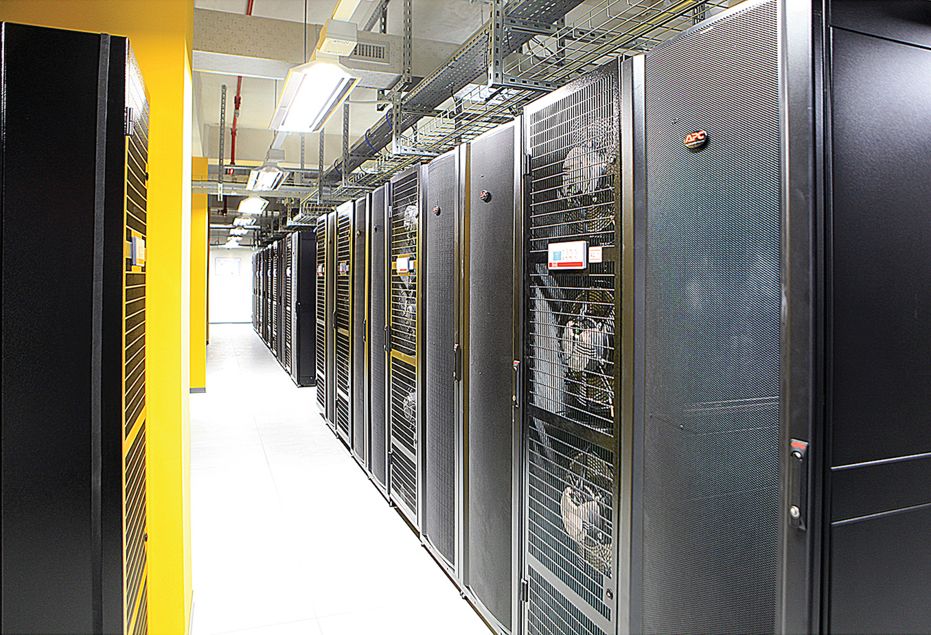 Figure 3. Data room Cold Aisle