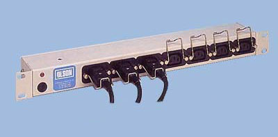 Figure 3. A retention clip to PDU in use