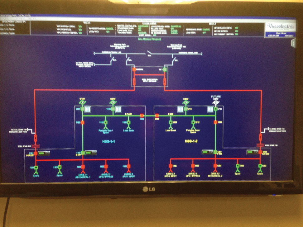 Figure 17. New switchgear includes a new SCADA system