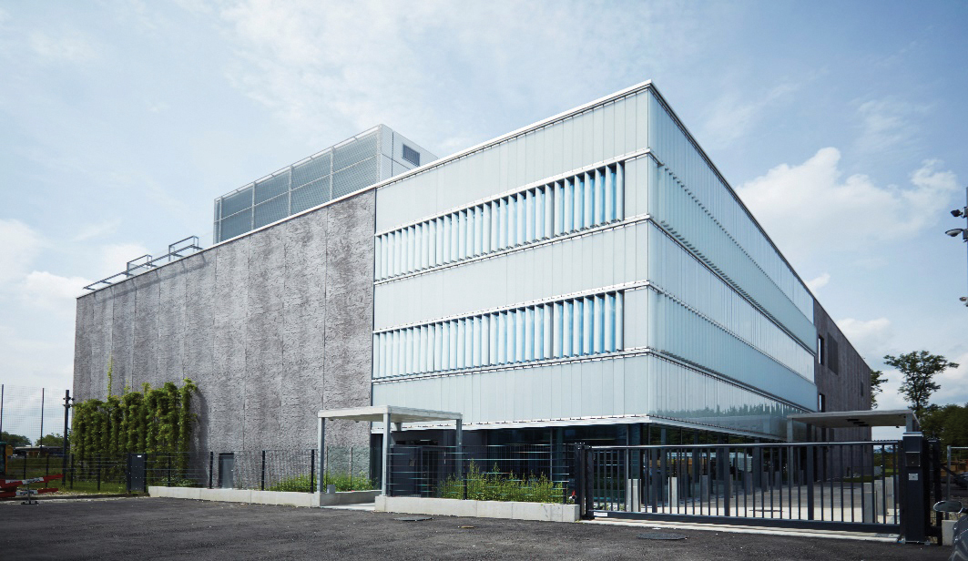 Figure 1. Exterior of Swisscom's Berne Wankdorf data center, photo Nils Sandmeier