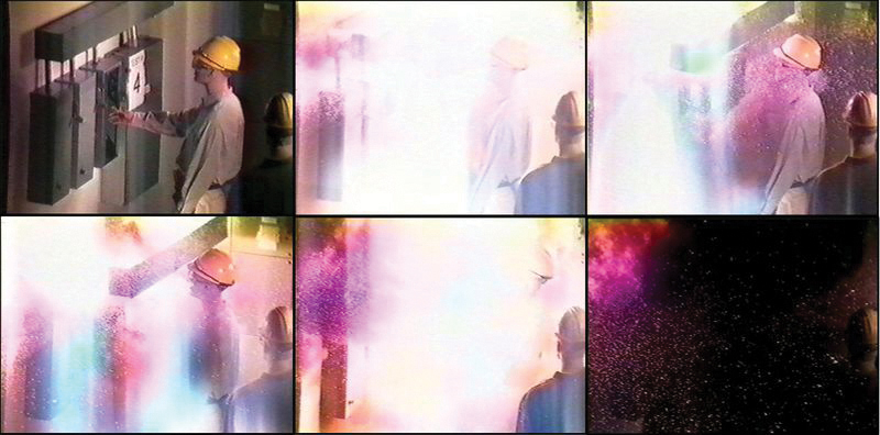 Figure 1. An arc flash explosion demonstration. Source: Open Electrical