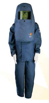 Figure 4. PPE: typical arc flash suit. Source: Open Electrical