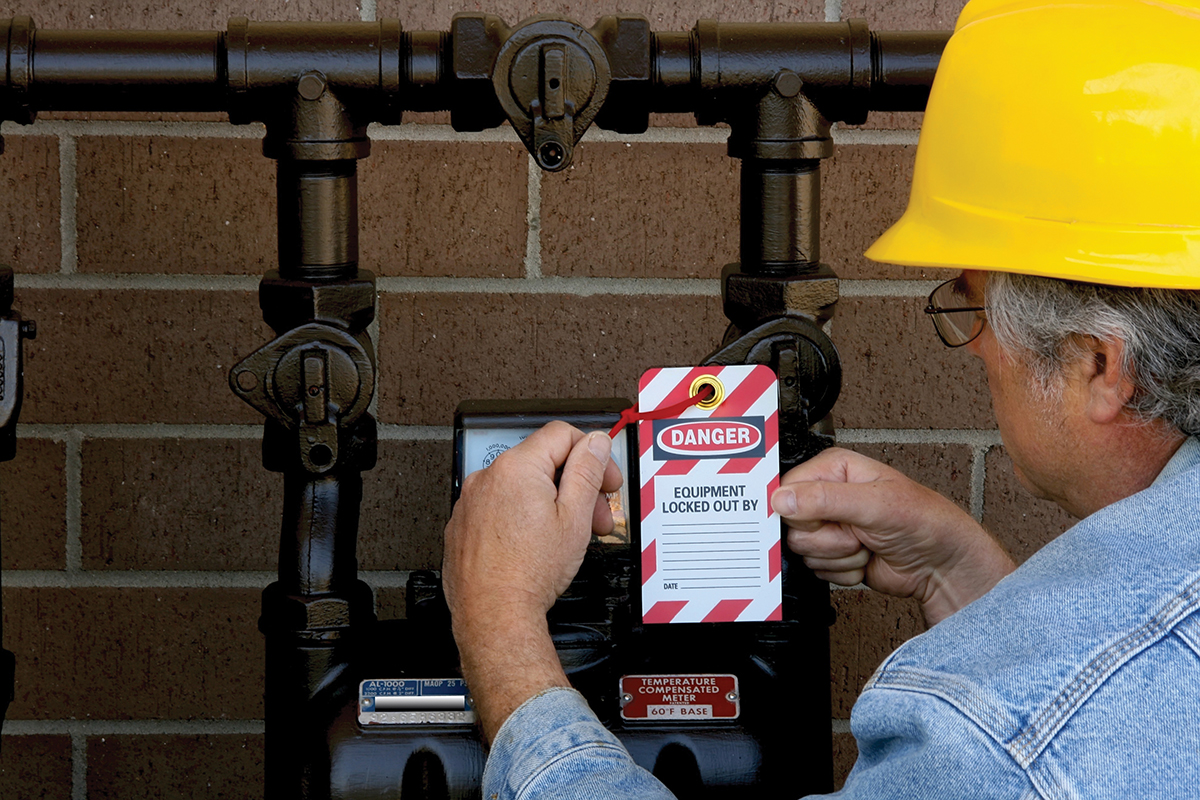 Figure 2. Equipment lockout/tagout