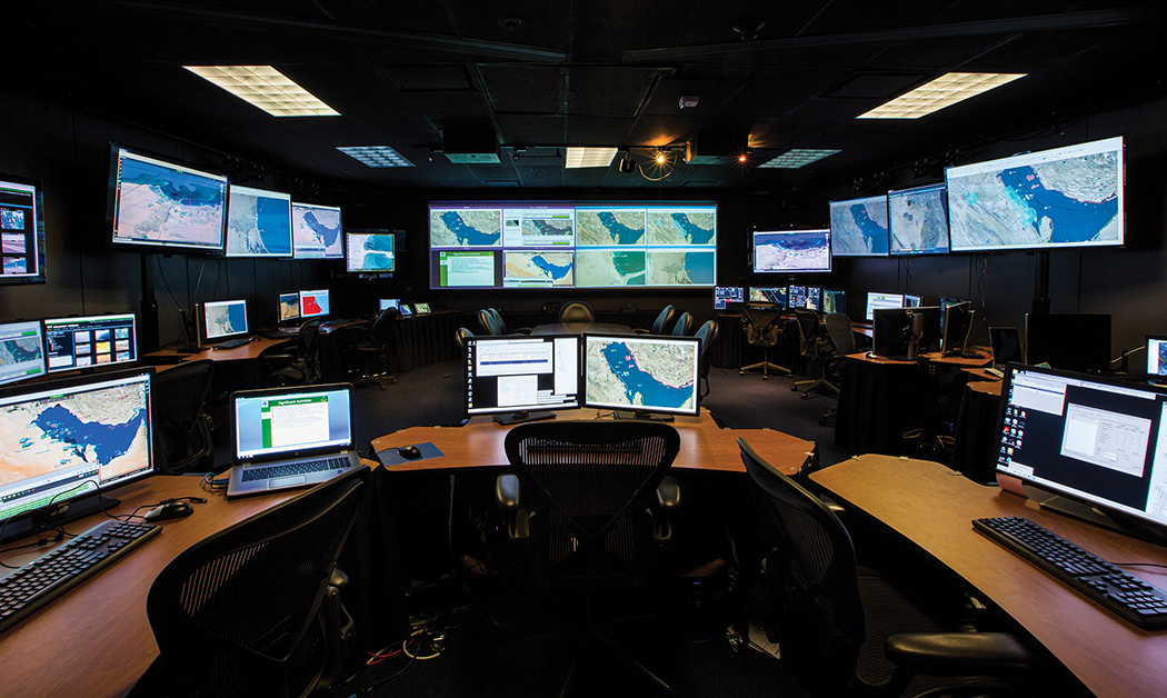 Figure 1. Among Raytheon's many national defense oriented product and solutions are sensors, radar, and other data collection systems that can be deployed as part of global analysis and aviation.