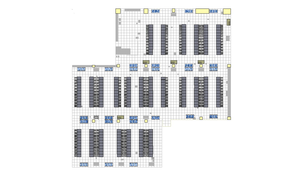 Masterplan Figure 2. Data center plan view