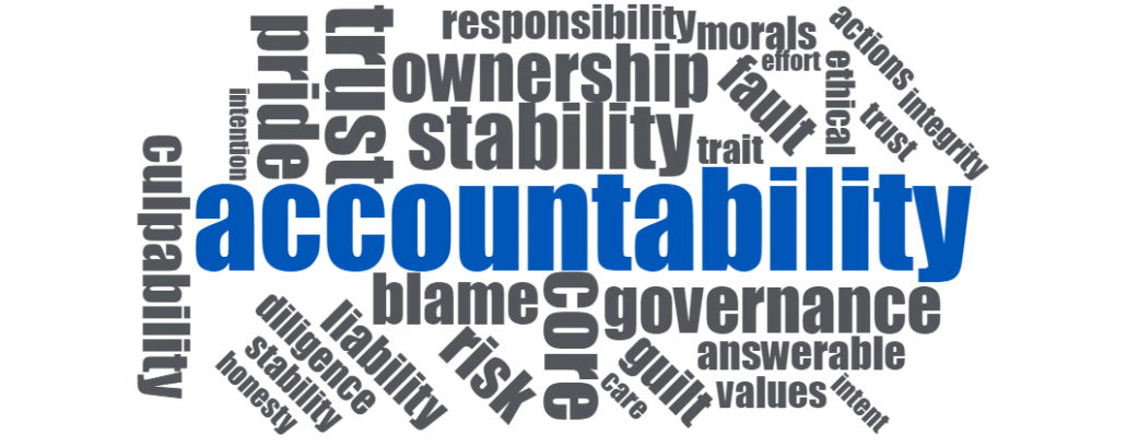 delivering it in 2018 is all about accountability uptime